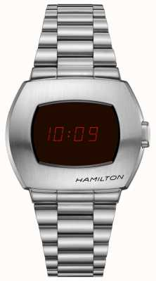 Hamilton Psr | pulsera de acero inoxidable | ex modelo de pantalla H52414130EX-DISPLAY
