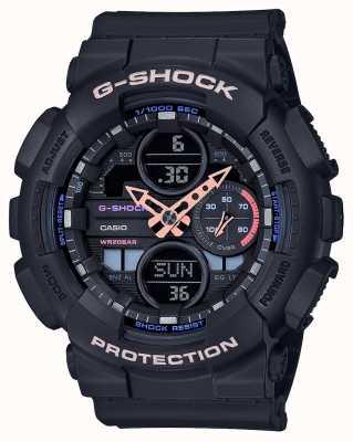 Casio Esfera multicolor unisex G-shock | correa negra GMA-S140-1AER
