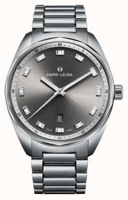 Favre Leuba Jefe jefe del cielo fecha 43 gris dia 00.10201.08.31.20