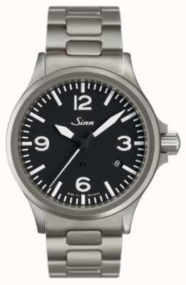 Sinn 856 el reloj piloto con protección de campo magnético 856.011 BRACELET