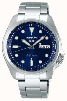 Seiko Reloj automático de 5 deportes para hombre | esfera azul SRPE53K1