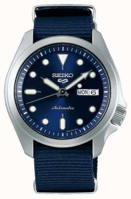 Seiko Reloj automático de 5 deportes para hombre | otan azul SRPE63K1