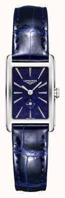 Longines Dolce vita | mujeres | cuarzo suizo | cuero azul L52554932
