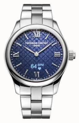 Frederique Constant Mujeres | vitalidad | reloj inteligente | esfera azul | acero inoxidable FC-286N3B6B