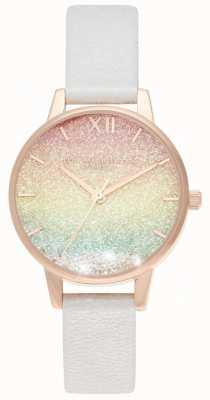 Olivia Burton Rainbow midi que desea reloj midi dial OB16EX228