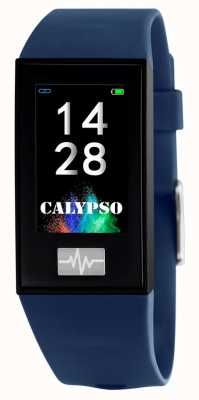 Calypso Unisex | smartime | correa de silicona azul + correa libre K8500/5