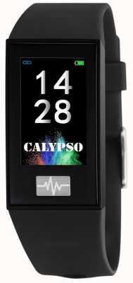 Calypso Unisex | smartime | correa de silicona negra + correa libre K8500/6