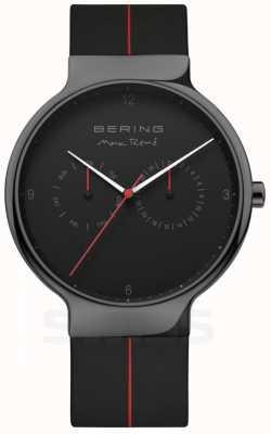 Bering Max rene masculino | correa de silicona negra | esfera negra 15542-423