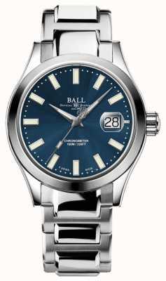 Ball Watch Company Ingeniero de los hombres iii auto | edición limitada | reloj de esfera azul NM2026C-S27C-BE
