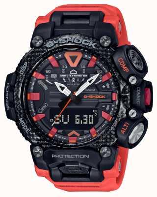 Casio G-shock | gravitymaster | núcleo de carbono | bluetooth | naranja GR-B200-1A9ER