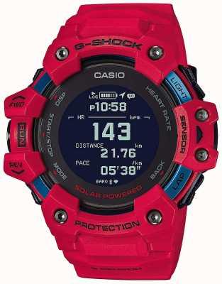 Casio G-shock | escuadrón g | monitor de frecuencia cardiaca | bluetooth | rojo | GBD-H1000-4ER