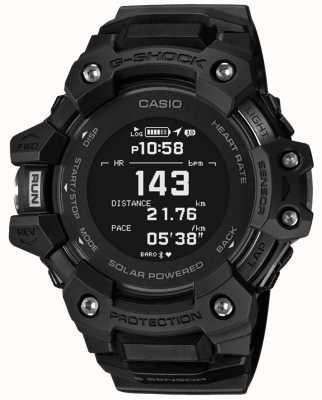 Casio | g-shock | escuadrón g | monitor de frecuencia cardiaca | bluetooth | negro | GBD-H1000-1ER