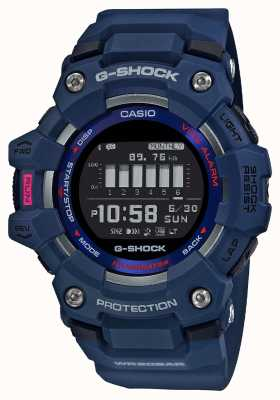 Casio G-shock | escuadrón g | steptracker | bluetooth | azul GBD-100-2ER