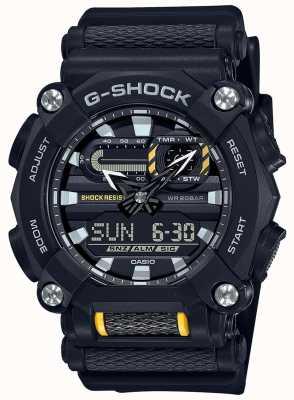 Casio G-shock | trabajo pesado | hora mundial | resina negra GA-900-1AER