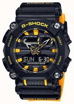 Casio G-shock | edición limitada | trabajo pesado | hora mundial | amarillo GA-900A-1A9ER