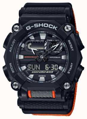 Casio G-shock | edición limitada | trabajo pesado | hora mundial | naranja GA-900C-1A4ER