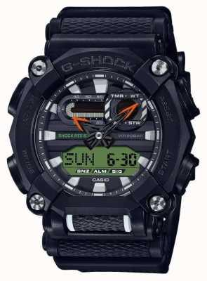 Casio G-shock | edición limitada | trabajo pesado | hora mundial | negro GA-900E-1A3ER