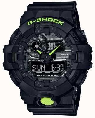 Casio G-shock | camuflaje digital | resina negra GA-700DC-1AER
