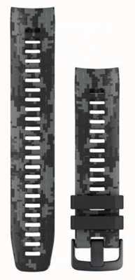 Garmin Correa de reloj de camuflaje gris grafito Instinct 010-12854-27