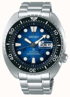 Seiko Los hombres salvan el océano | pulsera de acero inoxidable | esfera azul SRPE39K1