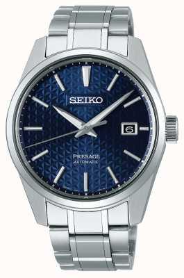 Seiko Presagio | mens | azul | dail | acero inoxidable | reloj SPB167J1