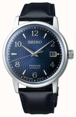 Seiko Presagio | cóctel | esfera azul | automático | reloj viejo SRPE43J1