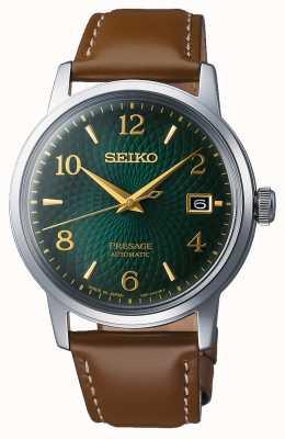 Seiko Presagio | automático | esfera verde | mojito | fecha | dorado SRPE45J1