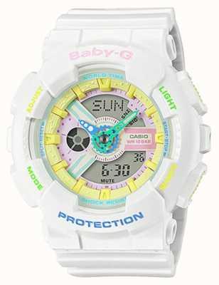 Casio Reloj baby-g decora con detalle de arcoíris BA-110TM-7AER