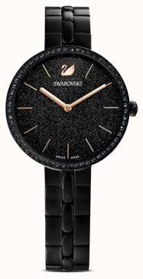 Swarovski Cosmopolitan | pulsera chapada en pvd negro | esfera negra brillante 5547646