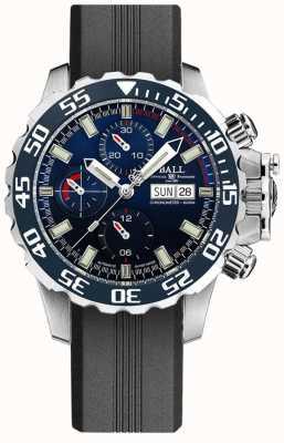 Ball Watch Company Ingeniero de hidrocarburos nedu | correa de silicona negra DC3026A-P3C-BE