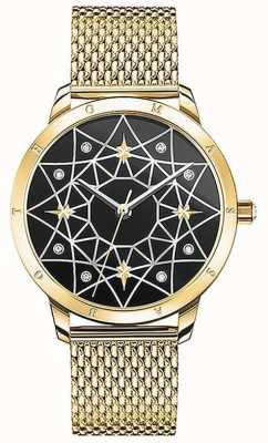 Thomas Sabo | mujer | espíritu cosmo cielo estrellado | pulsera de malla de oro | SET_WA0373-275-203-33