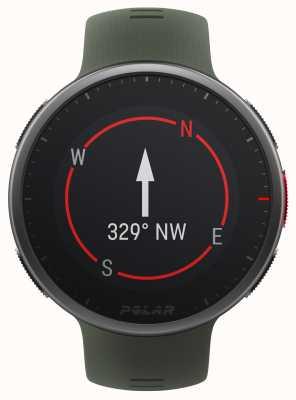 Polar | vantage v2 premium | reloj multideporte | negro / verde | 90083653
