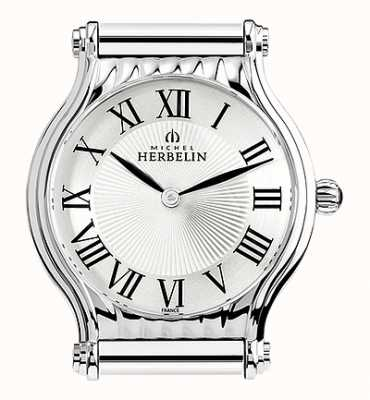 Michel Herbelin Antarès | esfera de reloj de acero inoxidable solamente | números romanos H.17447/08