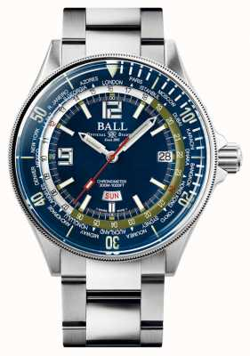 Ball Watch Company Ingeniero maestro ii buzo worldtime | esfera azul | 42 mm DG2232A-SC-BE