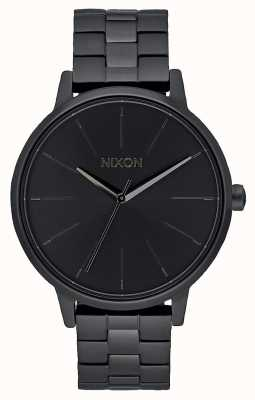 Nixon Kensington | todo negro | pulsera ip negra | esfera negra A099-001-00