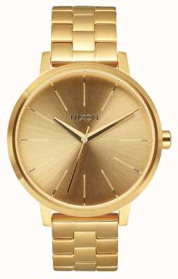 Nixon Kensington | todo el oro | pulsera de acero ip oro | esfera de oro A099-502-00