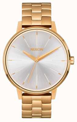 Nixon Kensington | oro / blanco | pulsera ip oro | esfera plateada A099-508-00