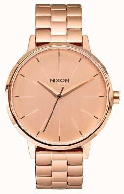 Nixon Kensington | todo oro rosa | pulsera ip oro rosa | esfera de oro rosa A099-897-00