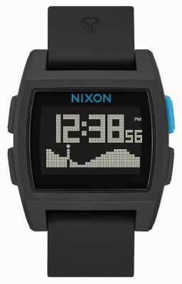 Nixon Marea base   negro / azul   digital   correa de silicona A1104-018-00