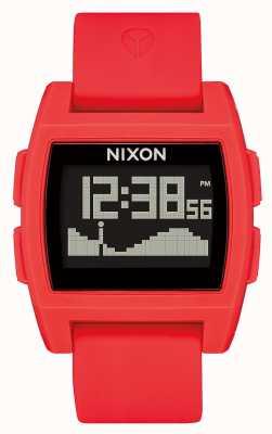 Nixon Marea base | rojo | digital | correa de silicona roja A1104-200-00