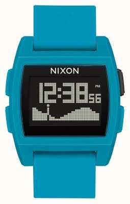 Nixon Marea base | resina azul | digital | correa de silicona azul A1104-2556-00