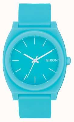 Nixon Cajero del tiempo p | jade mineral mate | correa de silicona jade | esfera de jade A119-3011-00