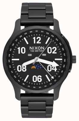Nixon Ascender | negro / lum | pulsera de acero ip negro | esfera negra A1208-2474-00