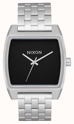 Nixon Rastreador de tiempo   negro   pulsera de acero inoxidable   esfera negra A1245-000-00
