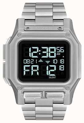 Nixon Regulus ss | negro | digital | pulsera de acero inoxidable | A1268-000-00