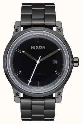 Nixon Quinto elemento | negro / bronce | pulsera de acero ip negro A1294-1420-00