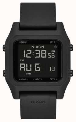 Nixon Grapa | negro | digital | correa de silicona negra A1309-000-00