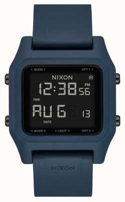 Nixon Grapa | pizarra oscura | digital | correa de silicona color pizarra A1309-2889-00
