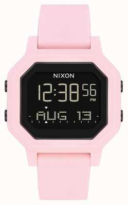 Nixon Sirena | rosa pálido | digital | correa de silicona rosa A1311-3154-00