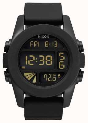 Nixon Unidad | negro | digital | correa de silicona negra | A197-000-00